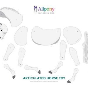 Articulated horse craft