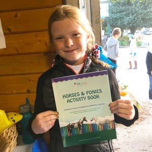 Girl With horse Book